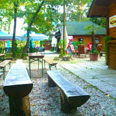 Okrepčevalnica Cuffi na Bukovniškem jezeru